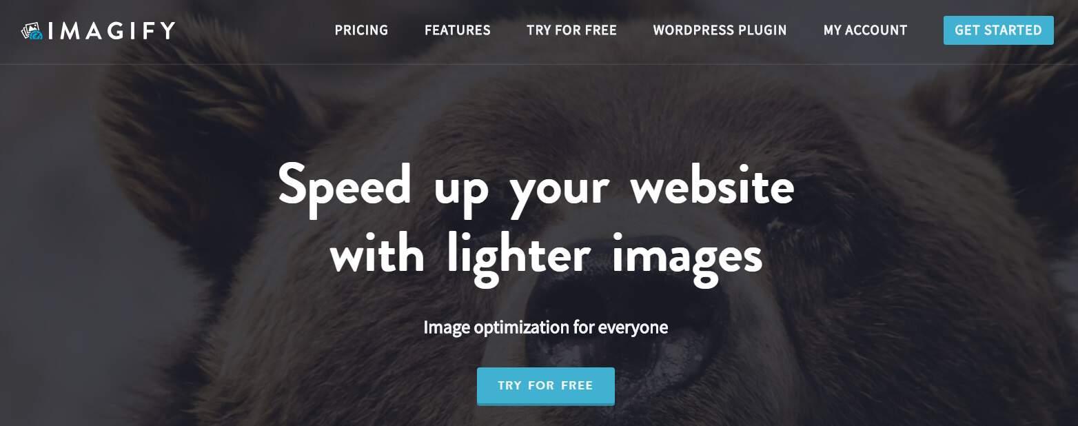 Comprimeer afbeeldingen met Imagify